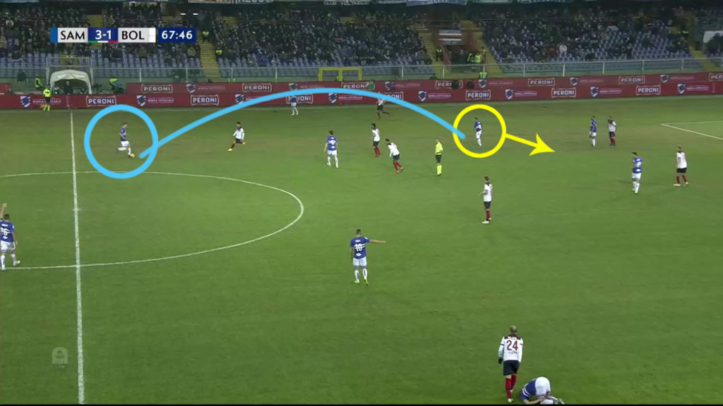 Joachim Andersen Sampdoria Scouting