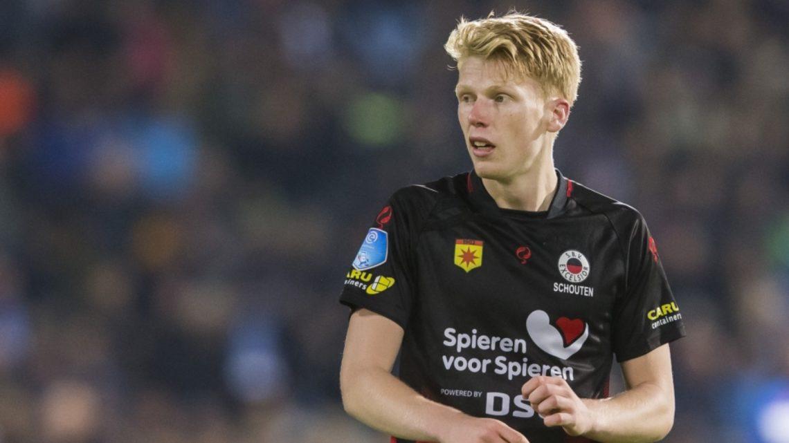 Qui est Jerdy Schouten, le jeune milieu de terrain de l'Excelsior Rotterdam ?